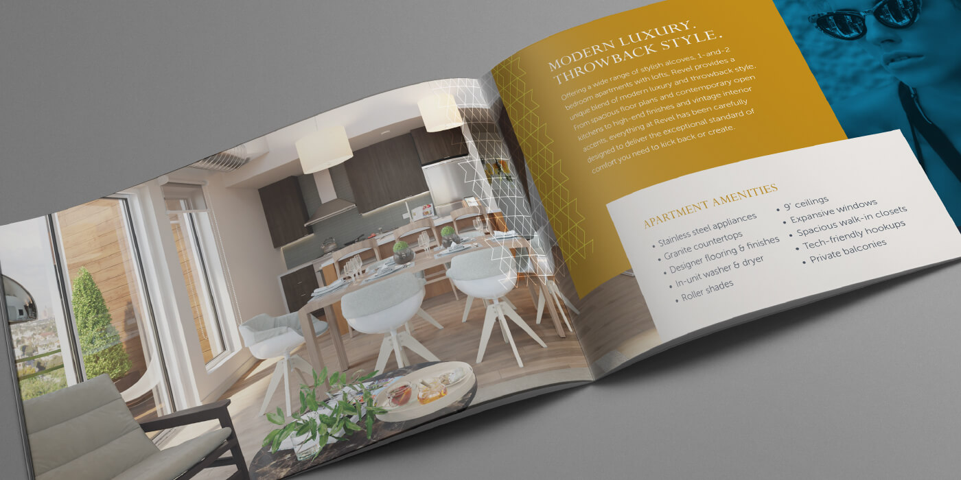 Revel brochure spread
