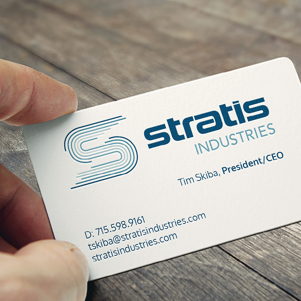 Stratis Industries business card