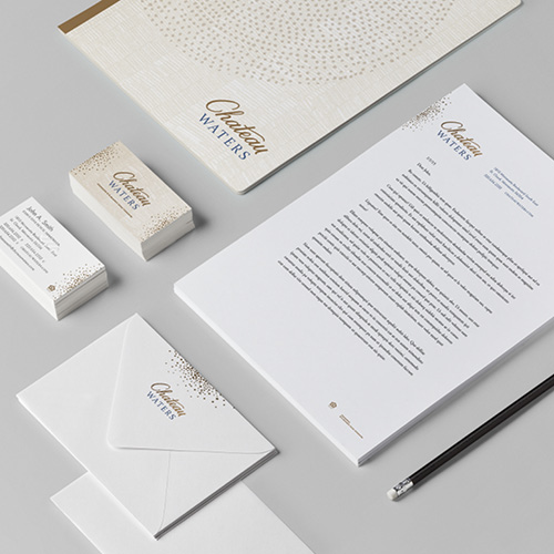 Chateau Waters stationary