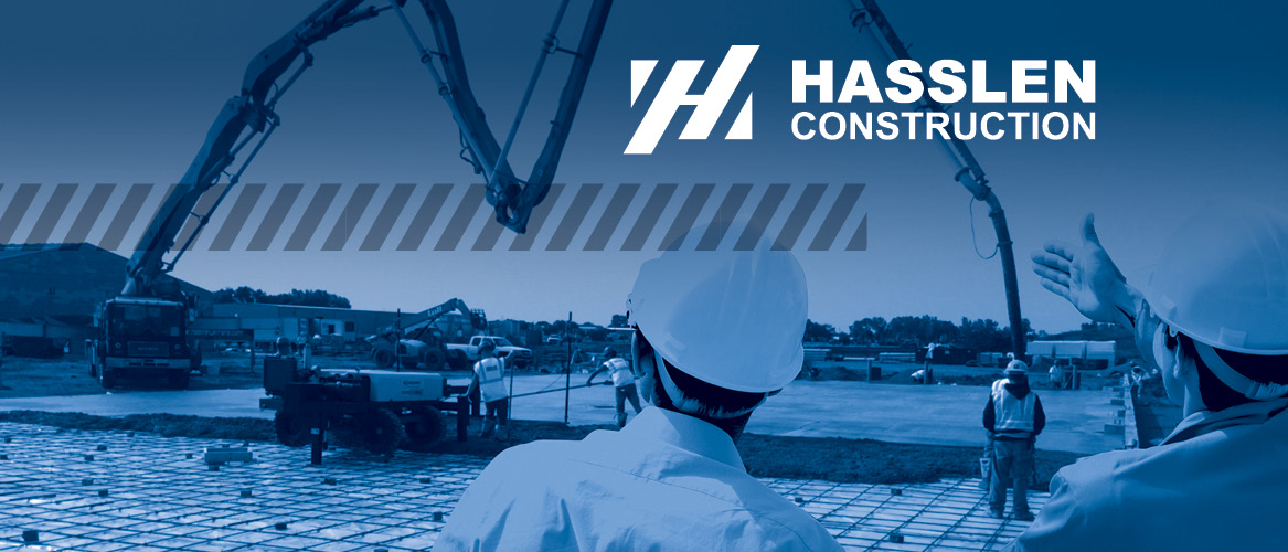 Hasslen Construction brochure cover