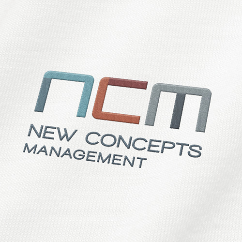 NCM embroidered logo