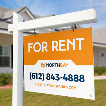 North Bay for rent sign