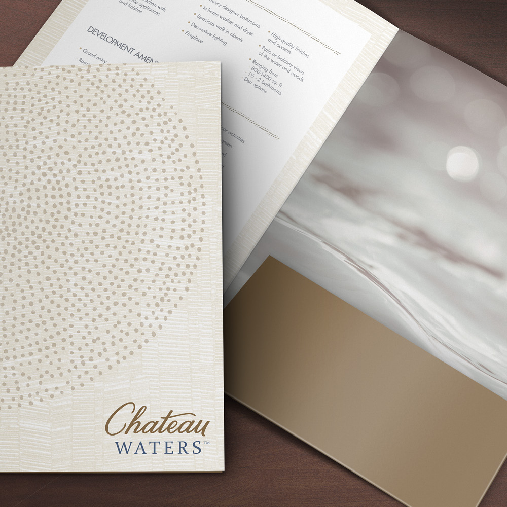Chateau Waters brochure