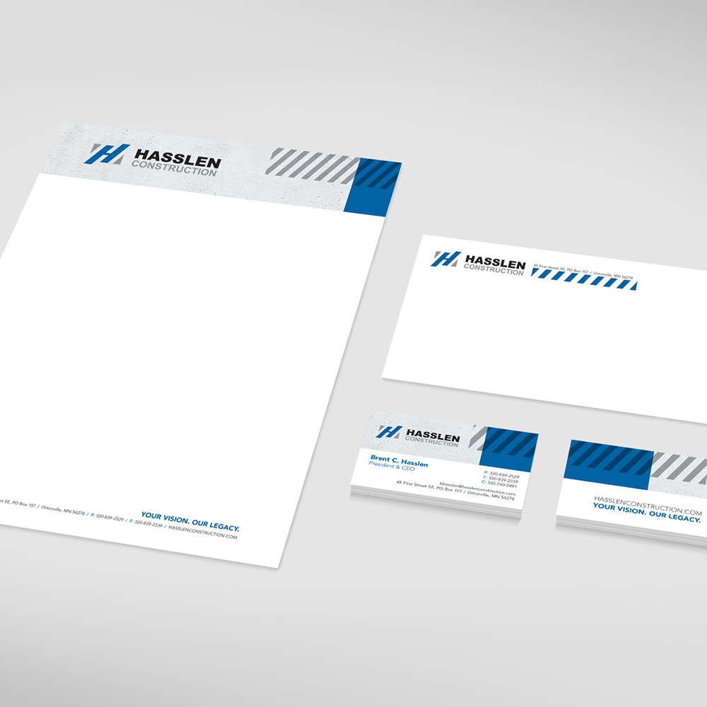 Hasslen Construction stationary